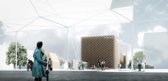 Koncepcja polskiego pawilonu na EXPO 2015 autorstwa pracowni 2pm. Architekci