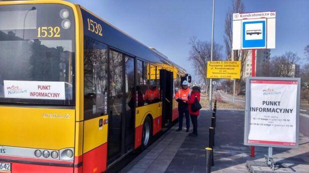 Autobus informacyjny ZTM
