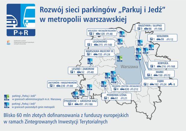 Tu powstaną parkingi UM Warszawa