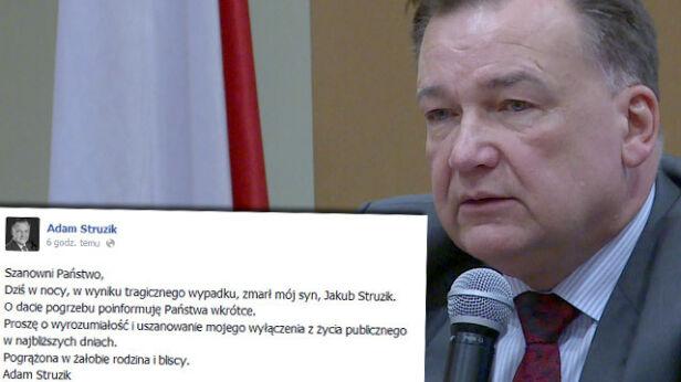 Marszałek stracił jedynego syna facebook.com/TVN24