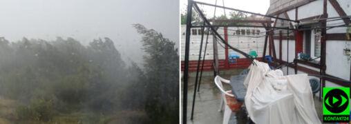 Wtorkowe nawałnice miejscami jak atak monsunu