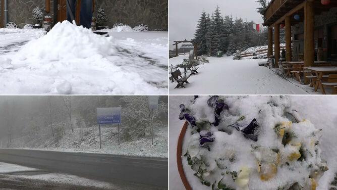 """""""Śnieżna Zośka"""". W górach wróciła zima"""