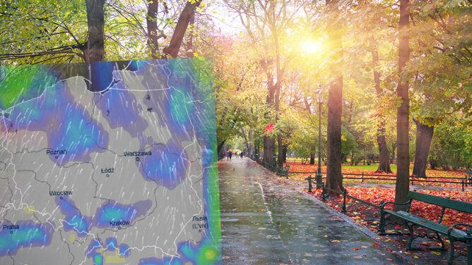 Nadchodzi zmiana w pogodzie. <br />Słońce zamienimy na deszcz i wiatr
