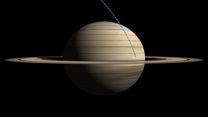 Spłonęła w atmosferze Saturna. <br />Misja sondy Cassini dobiegła końca