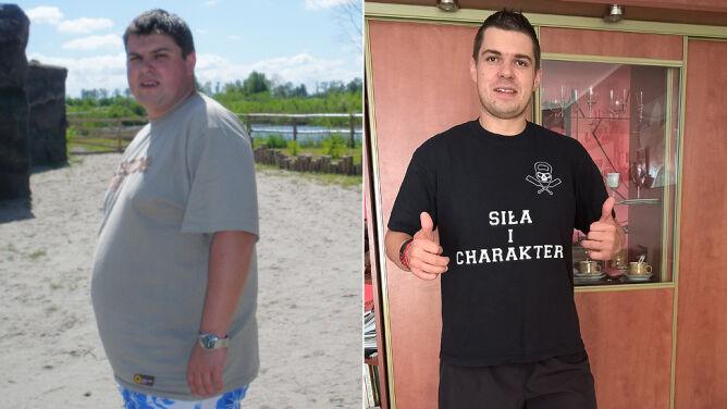 """Schudł 50 kg. """"Wielokrotnie czułem się zmęczony"""""""