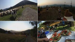 """Piekielny upał i """"to już naprawdę ostatnia góra"""". Ponad 50 km w najgorętszy dzień w roku"""
