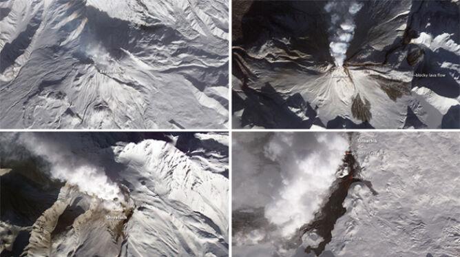 Cztery wulkany wybuchły jednocześnie