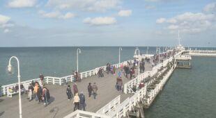 Słoneczna i ciepła niedziela nad morzem