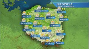 Prognoza pogody na niedzielę 05.07