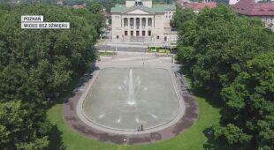 Widok na Poznań z drona