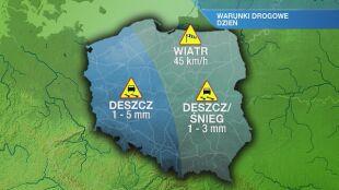 Warunki drogowe w czwartek 27.02